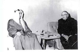 Athol Murray with King Faisal