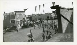 A Parade on Main Street in Biggar, Saskatchewan