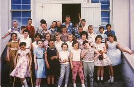 A Grade Five Class in Biggar, Saskatchewan
