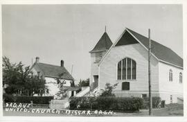3rd Ave. United Church in Biggar, Sask.
