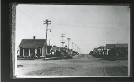A Street in Biggar, Saskatchewan