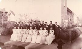 A Graduating Class in Biggar, Saskatchewan