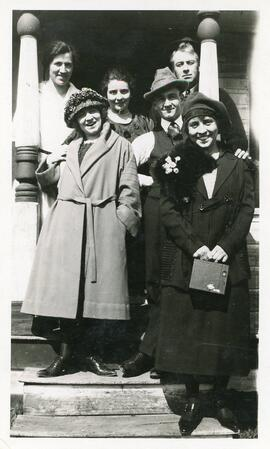 A Group of People in Biggar, Saskatchewan