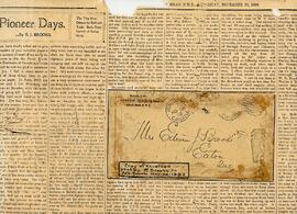 E.J. Brooks Newspaper Clippings