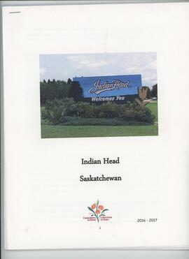 Indian Head Saskatchewan Profile Book