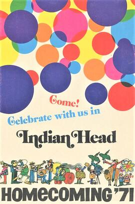 Come! Celebrate with us in Indian Head - Homecoming '71