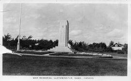 """War Memorial, Lloydminster, Sask, Canada"""