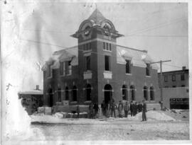 Lloydminster Post Office under construction