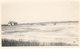 Spillway and dam at Melfort Sask.