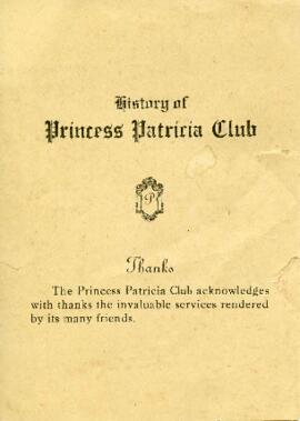 Princess Patricia Club fonds