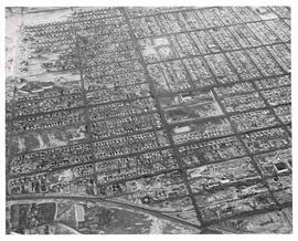 Aerial view of Moose Jaw
