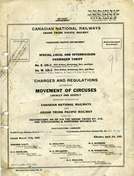 Canadian National Railway (Stony Beach Station) fonds