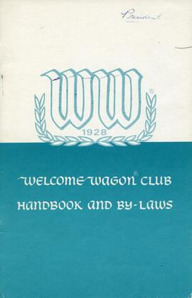 Welcome Wagon Newcomers Alumni Club fonds