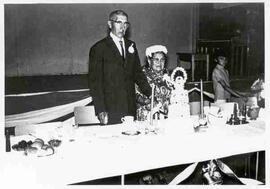 50th wedding anniversary of Mr. and Mrs. George LeCaine, Assiniboia