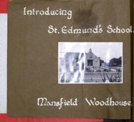 King Edward School scrapbook collection