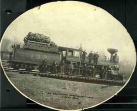 """1st Train into Prince Albert N.W.T."""