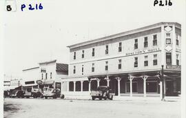 200 block Main Street with the Rosetown Hotel