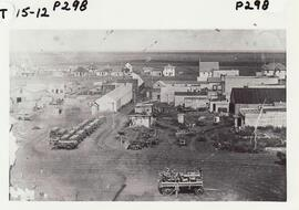 A high level photo of part of Rosetown