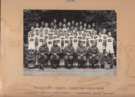 1st Canadian Division Track and Field Team