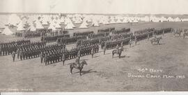 46th Battalion, Camp Sewell, Manitoba, 1915