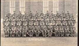10th Platoon, 2nd Company, Canadian Army Basic Training Centre