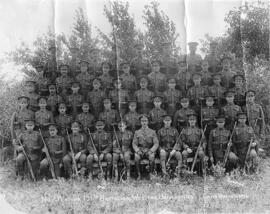 196th Western Universities Battalion - No. 7 Platoon - Group Photo