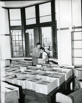 Moving of library materials
