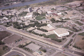 Aerial Layout of the University of Saskatchewan Campus