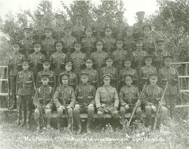 196th Western Universities Battalion - No. 5 Platoon - Group Photo