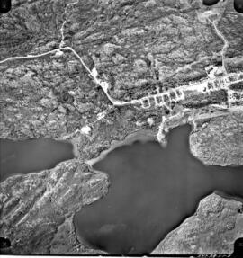 Aerial photo of Uranium City, Sask.