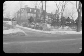 24 Sussex Drive from roadway