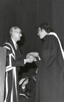 Convocation - Awards - Governor General's Gold Medal - Mark J.C. Abley