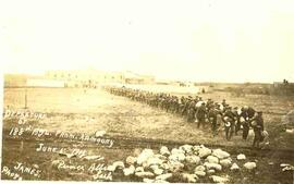 188th Battalion departure from armory